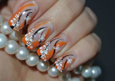 Nagelstyle - flower power