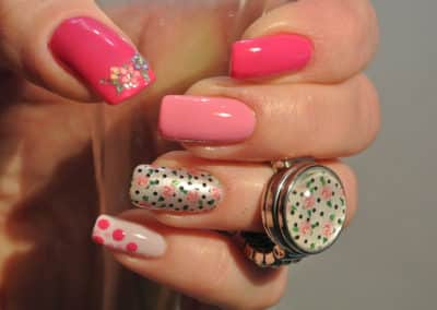 Nagelstyle - pink lady