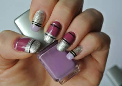 Nagelstyle - purple rain