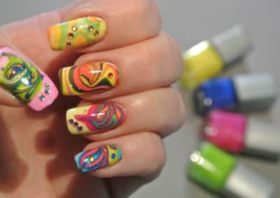 Nagelstyle - water marble